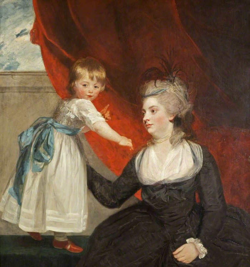 1783: Isabella Courtenay and her niece